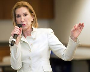 Potential GOP candidate Fiorina takes on Hillary Clinton