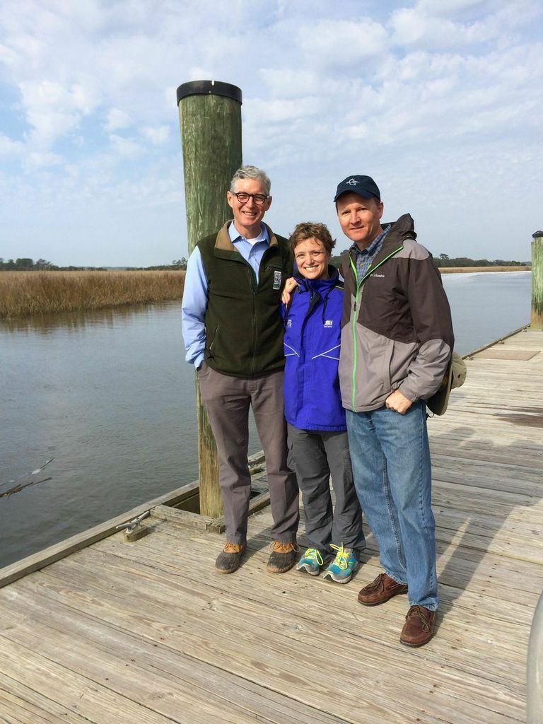 Wh where is the golden isles - Megan Desrosiers Stands With Two Of 100 Mile Founders