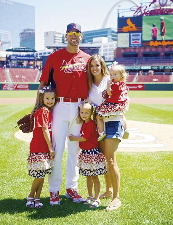 Photo of Adam Wainwright & his  Daughter   Baylie Grace Wainwright