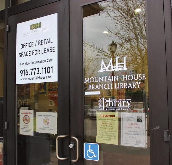 Mountain house library to close indefinitely golden for Mountain house library