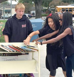 Kelly School book drive