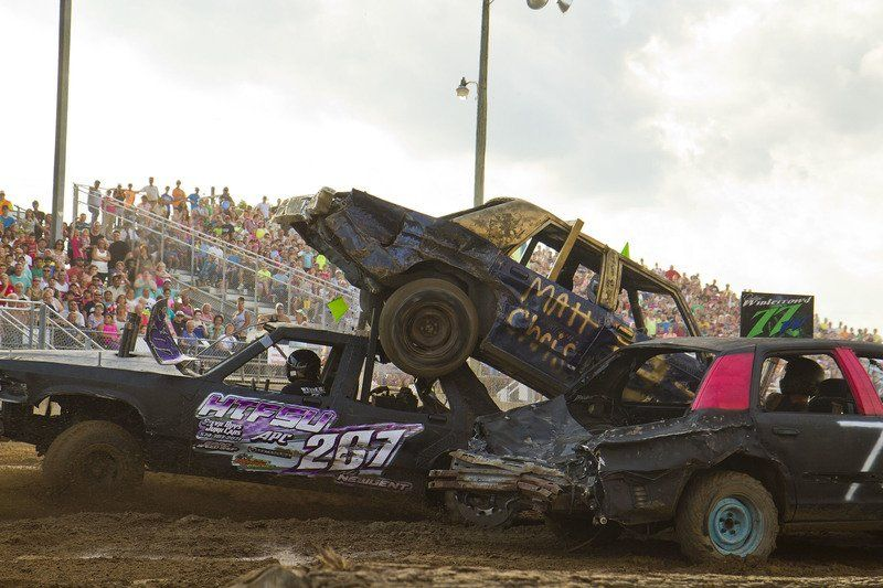 ELKHART COUNTY 4-H FAIR: Demolition derby brings loved ones ...
