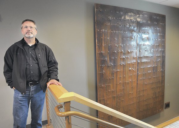 One-of-a-kind art at S-W city hall