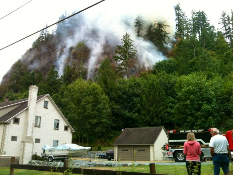 Big Rock Fire 1