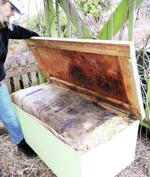 <p>The Skagit County Master Gardeners program maintains a worm box in the WSU Discovery Garden. Carla Glassman / Skagit County Master Gardeners</p>