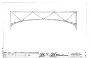 Current bridge trusses