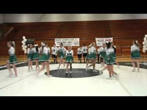 Cheerleading squads from across Skagit County and Darrington participated in the third annual Skagit County Cheer Exhibition at Mount Vernon High School on Saturday, March 21, in Mount Vernon.