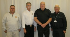 Balsam Fire Chief honored