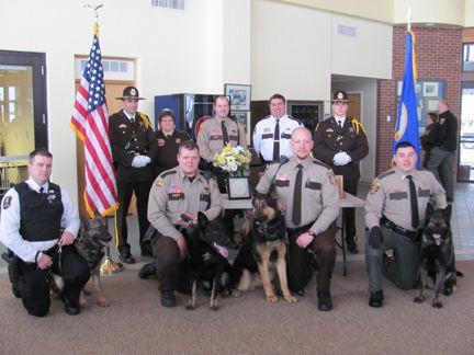 Memorial service for K-9 Chase | News | grandrapidsmn.com
