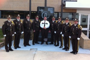 Sheriff Williams forms Itasca Honor Guard