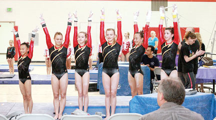 grg gymnastics meet score