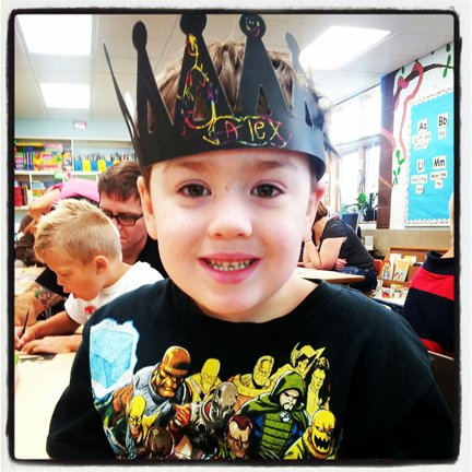 King of Kindergarten Alex Finch