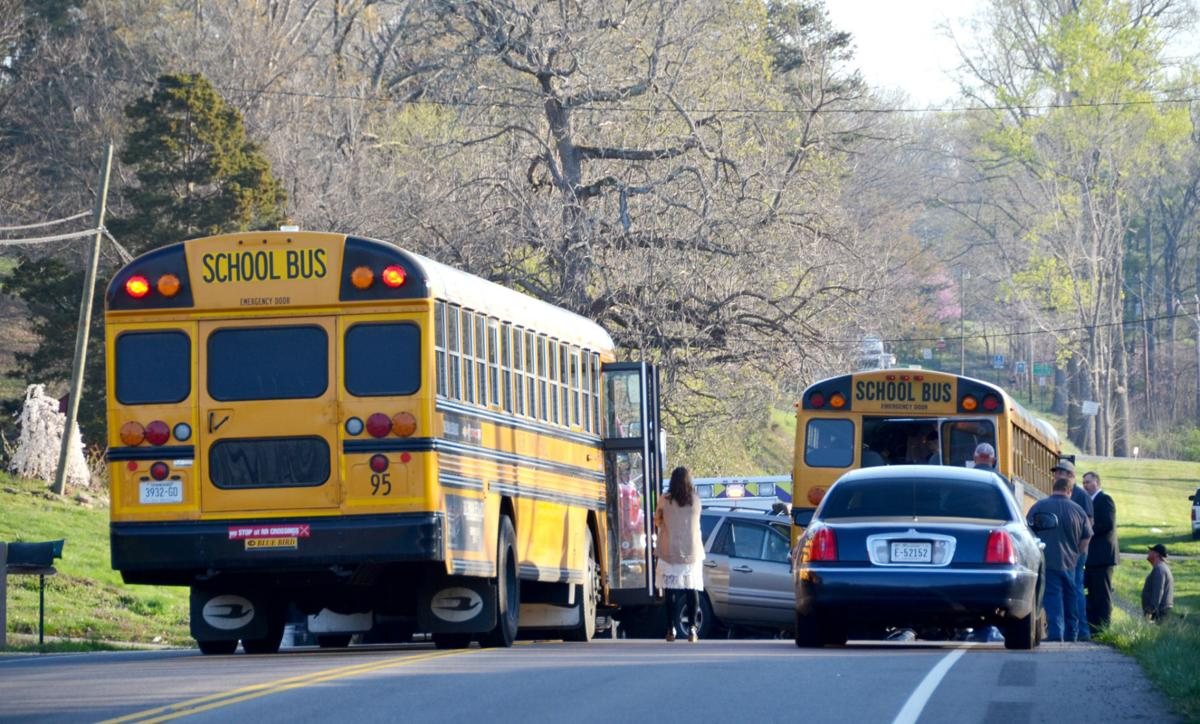 w who slammed into bus hit charges local news students load onto another bus