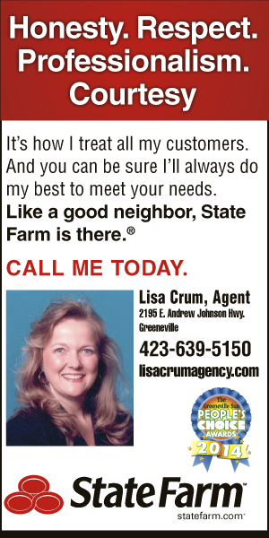 Lisa Crum State Farm Insurance Agent Greeneville Tn