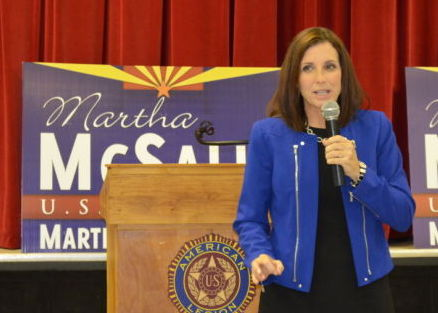 McSally is in the race