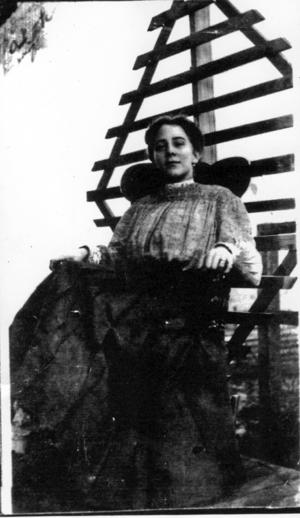Josie Earp, Wyatt's third wife.