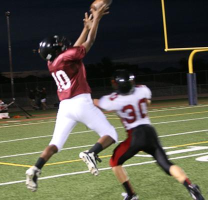 First touchdown