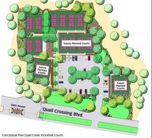 Diagram of Quail Creek Courts