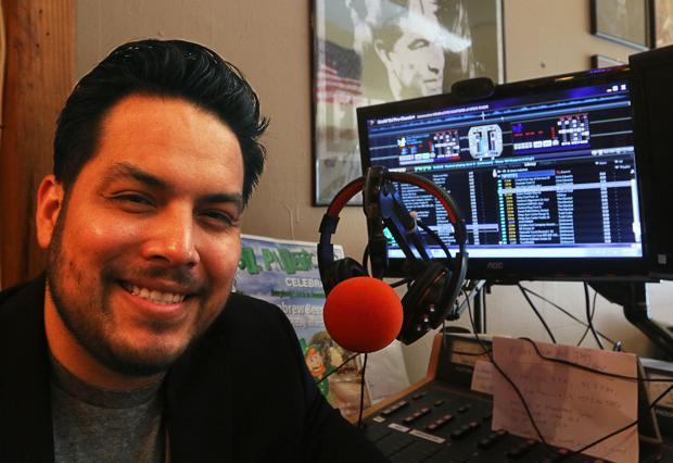 Radio station KFUN in Hanford