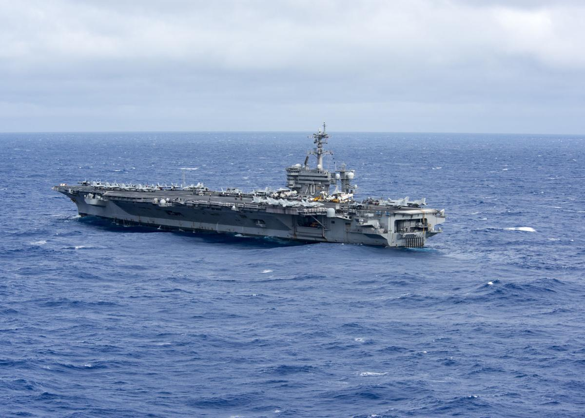 CSG-1 conducts South China Sea patrol