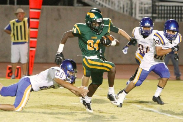 Kingsburg Vikings football kickoffs season Friday