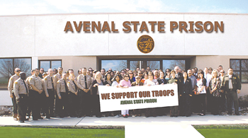Avenal Prison Staff Shows Support For Marines Local