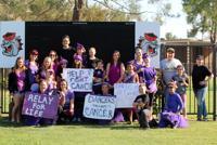 Dancers Unlimited Team Paints The Town Purple!
