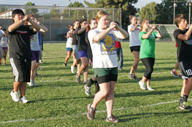 Kingsburg High Band readies for upcoming marching season