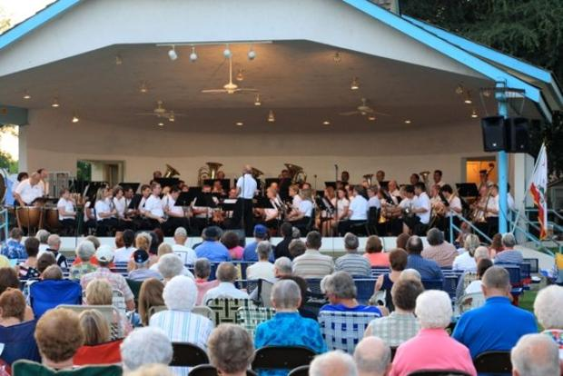 Vocal instructor performs with Kingsburg Summer Band