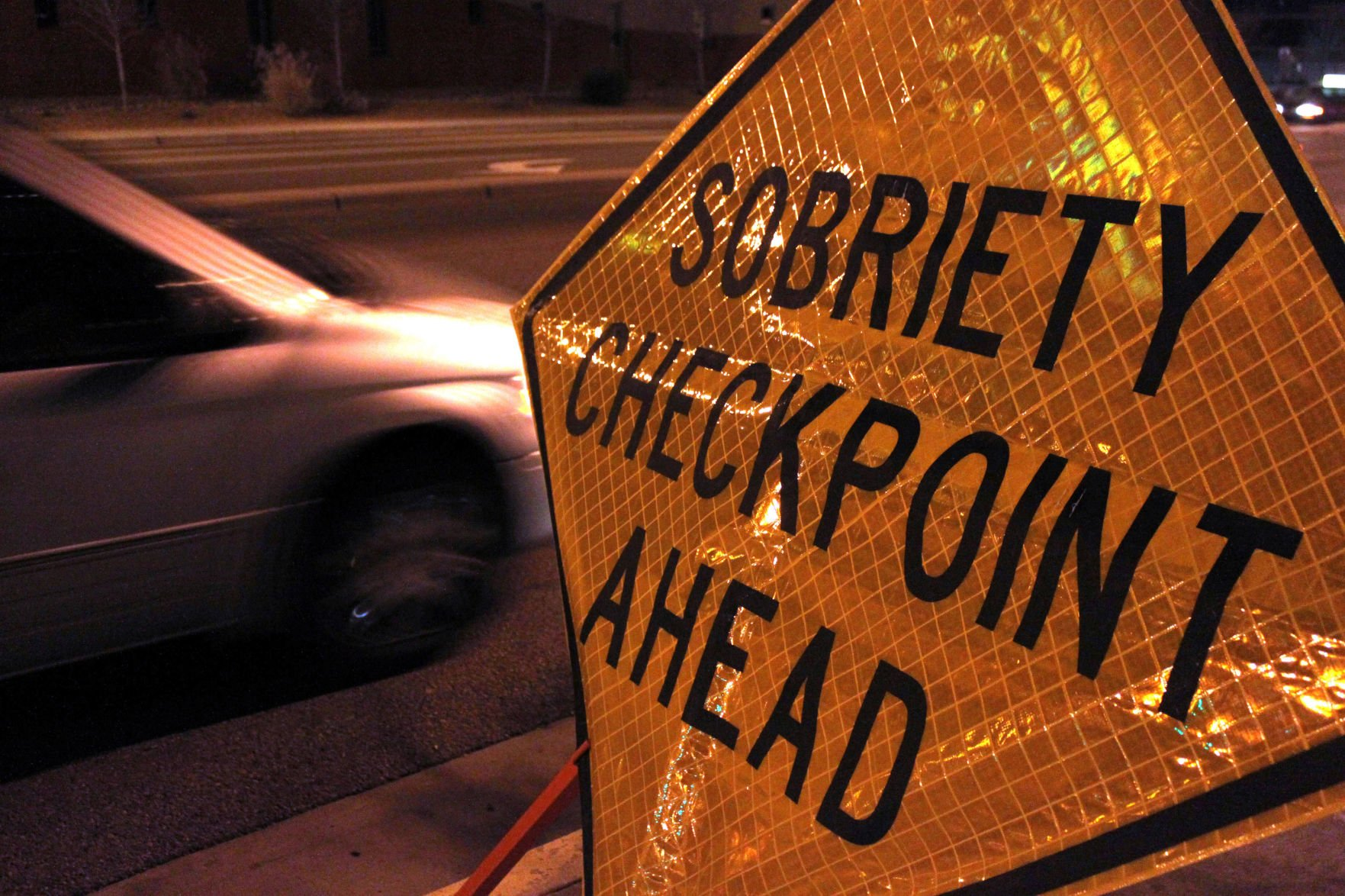 No DUI drivers found at Santa Maria checkpoint