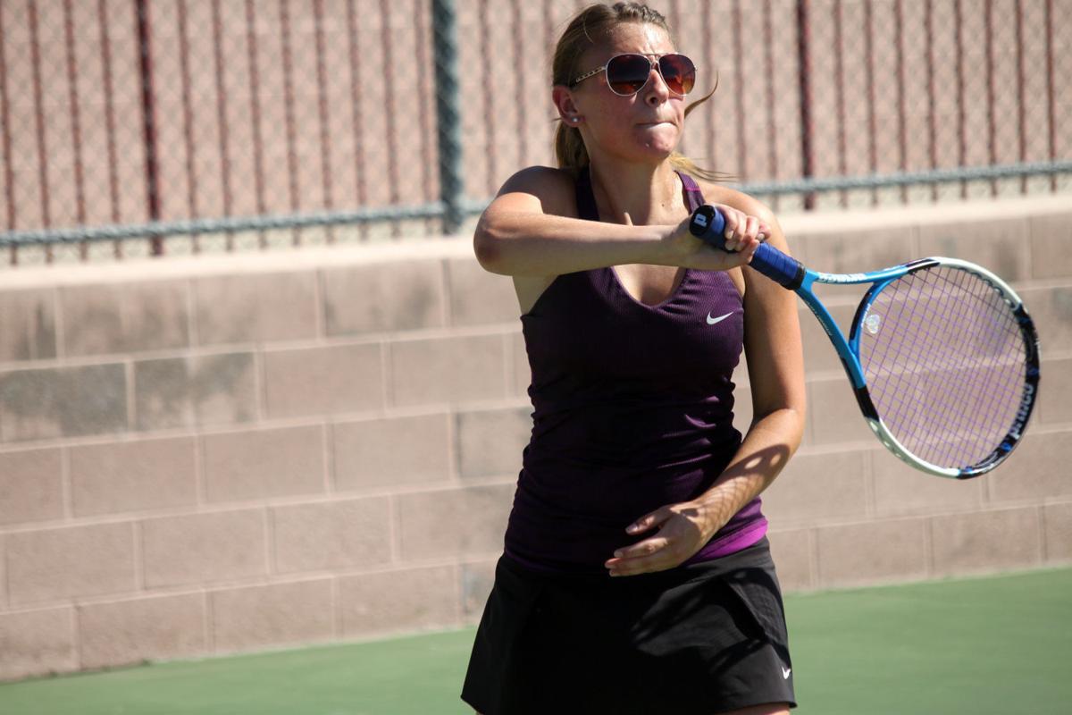Photos: Lake Havasu Lady Knights tennis vs. Deer Valley ...