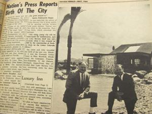 A trip down memory lane: Nation's Press Reports Birth Of the City