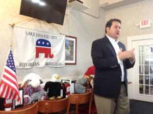 GOP candidate Brnovich seeking to unseat AG Horne visits locally