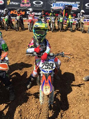 <p>Julien Beaumer, 8, beat out thousands of competitors for an invite to the Amateur National Motocross Championships at Loretta Lynn ' s Ranch in Tennessee.</p>