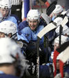 hockey; Bighorns vs Bulls