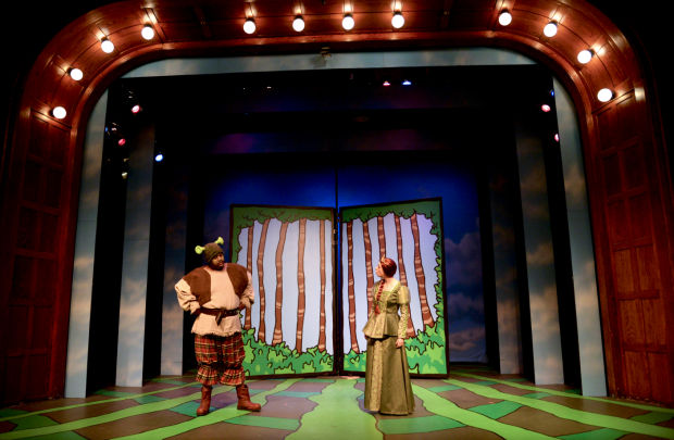 Lovable Ogre Shrek Leads Fairy Tale Misfits In Grandstreet