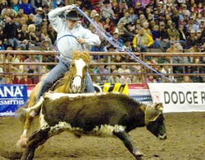 Area cowboys fall short on final day at PRCA