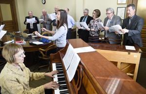 Feature Photo: Legislature Choir harmonizes at the Capitol