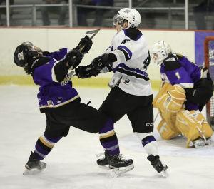 Hockey: Helena Bighorns vs Gillette Wild, Game 2