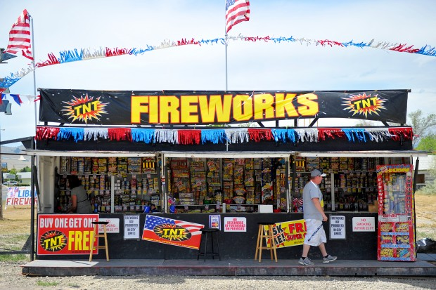 Expo Tnt Stands : East helena bans fireworks but show still on lewis and