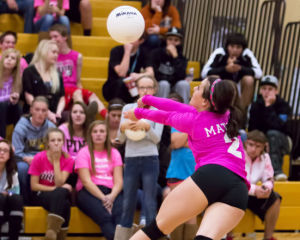 Home playoff game ensured for victorious Capital volleyball team