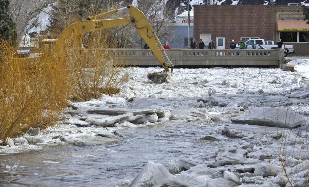rapid snow melt brings flood emergency across the helena area