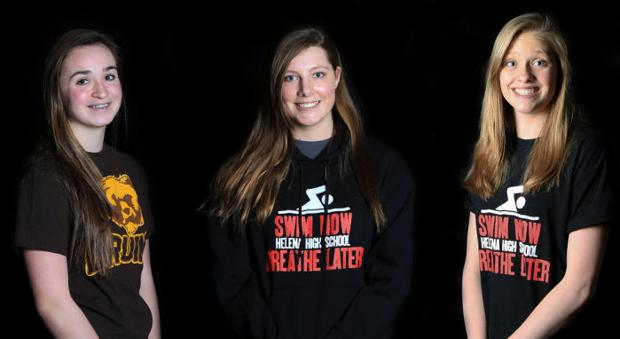 Local trio seeded among state's top-ranked girls