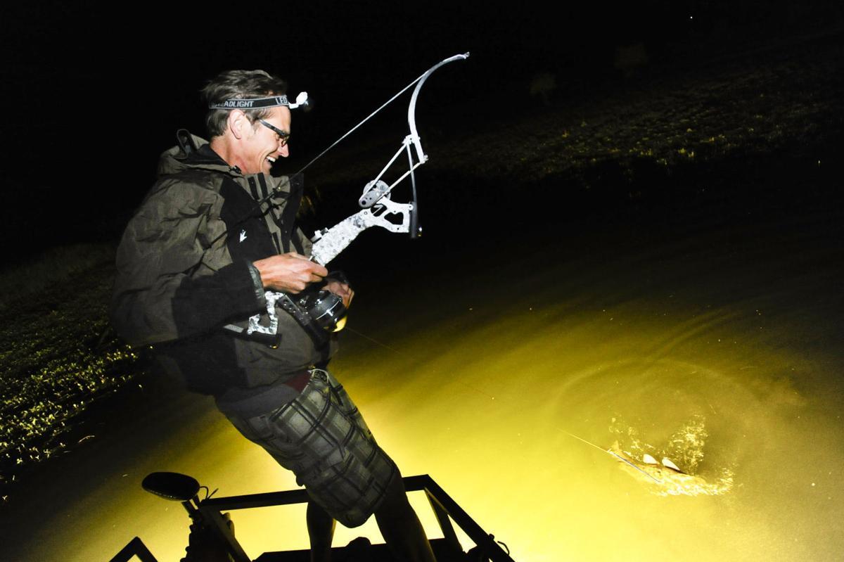 Bowfishing Carp At Night It S A Cool Rush Helena