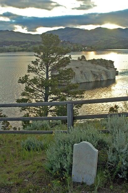Cemetery Island Canyon Ferry Montana