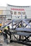 Cinemark expansion construction