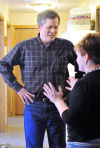 Daines tours Willis Cruse House