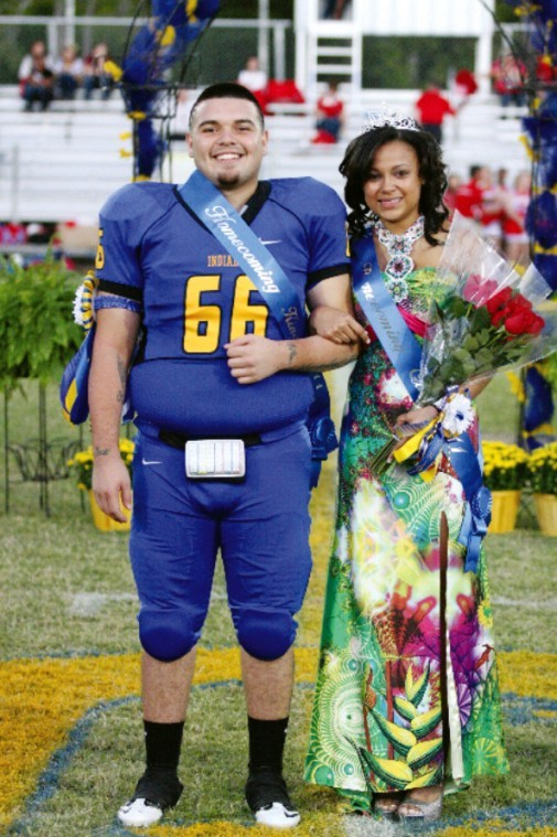 Homecoming Queen & Escort