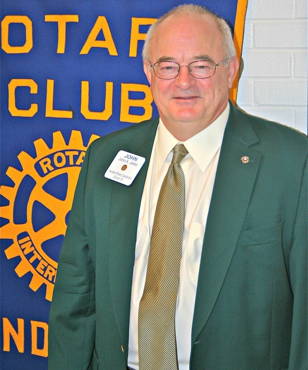 John Jeter from the Rotary Club of Longview