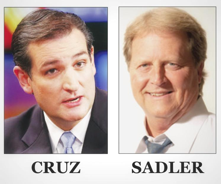 Ted Cruz, Paul Sadler